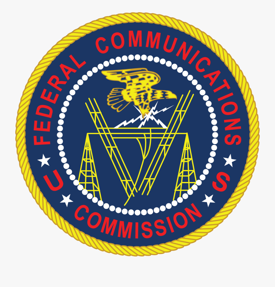 Fcc Seal Rgb Large - Federal Communications Commission, Transparent Clipart