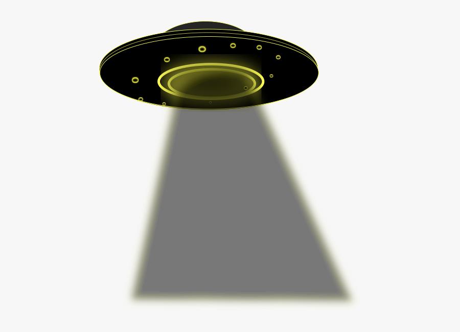 Ufo With Beam Transparent, Transparent Clipart