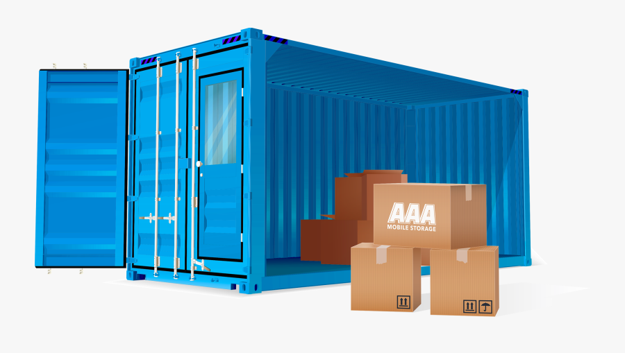 Transparent Shipping Container Png, Transparent Clipart