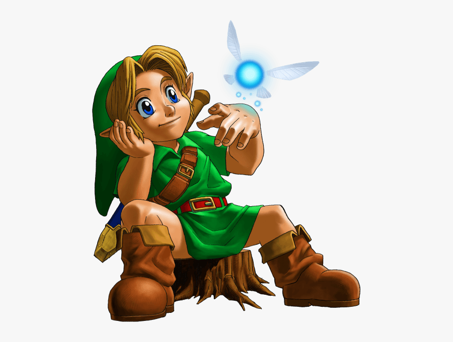 Legend Of Zelda Ocarina Of Time Concept Art Clipart - Legend Of Zelda Majora's Mask Link, Transparent Clipart