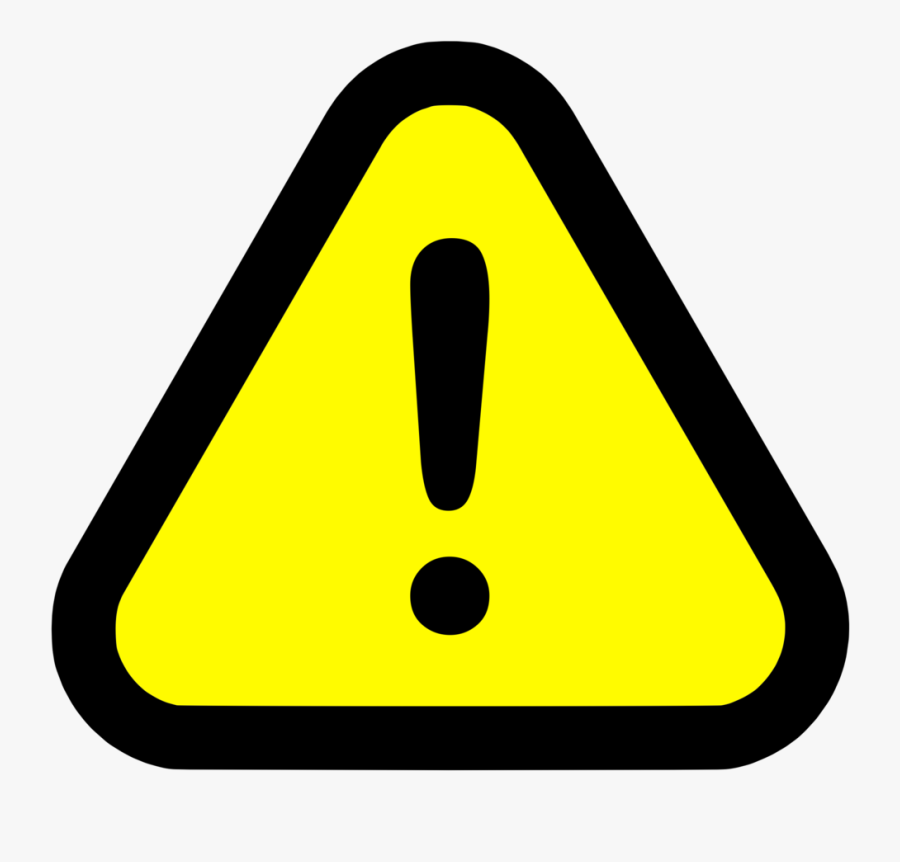 Warning White Danger Sign Png Free Transparent Clipart Clipartkey