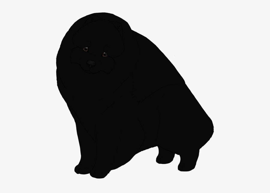 Cat Black Dog Canidae Silhouette - Dog Licks, Transparent Clipart
