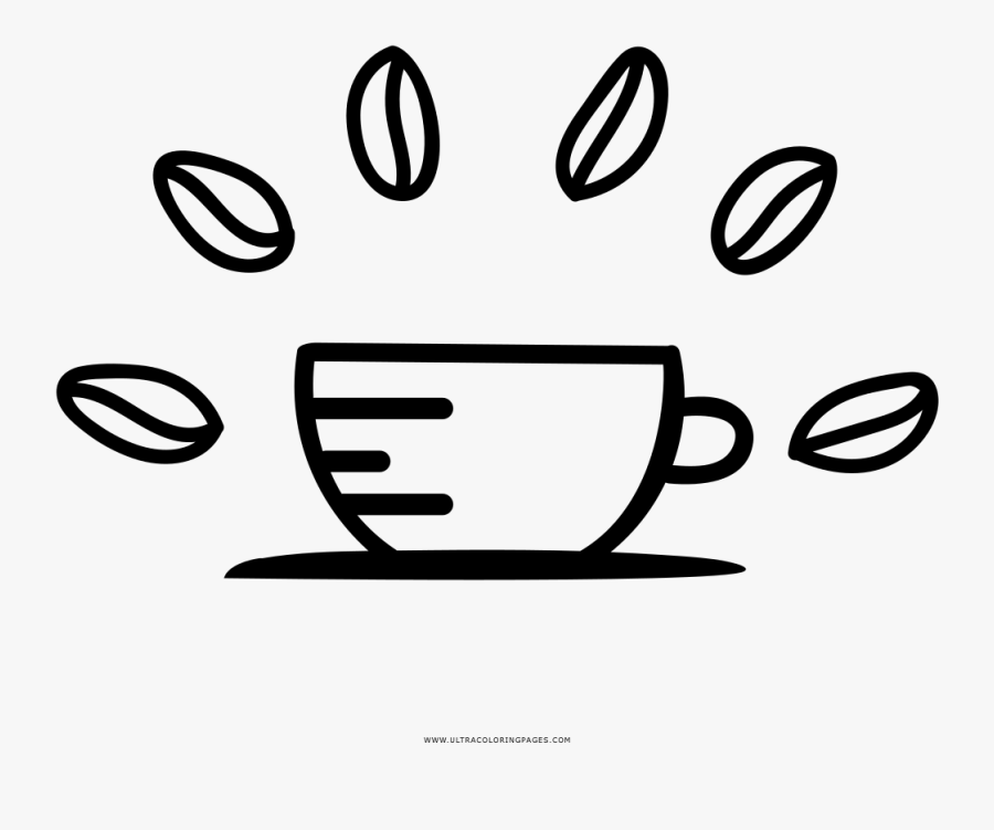 Hot Coffee Coloring Page Ultra Pages, Transparent Clipart