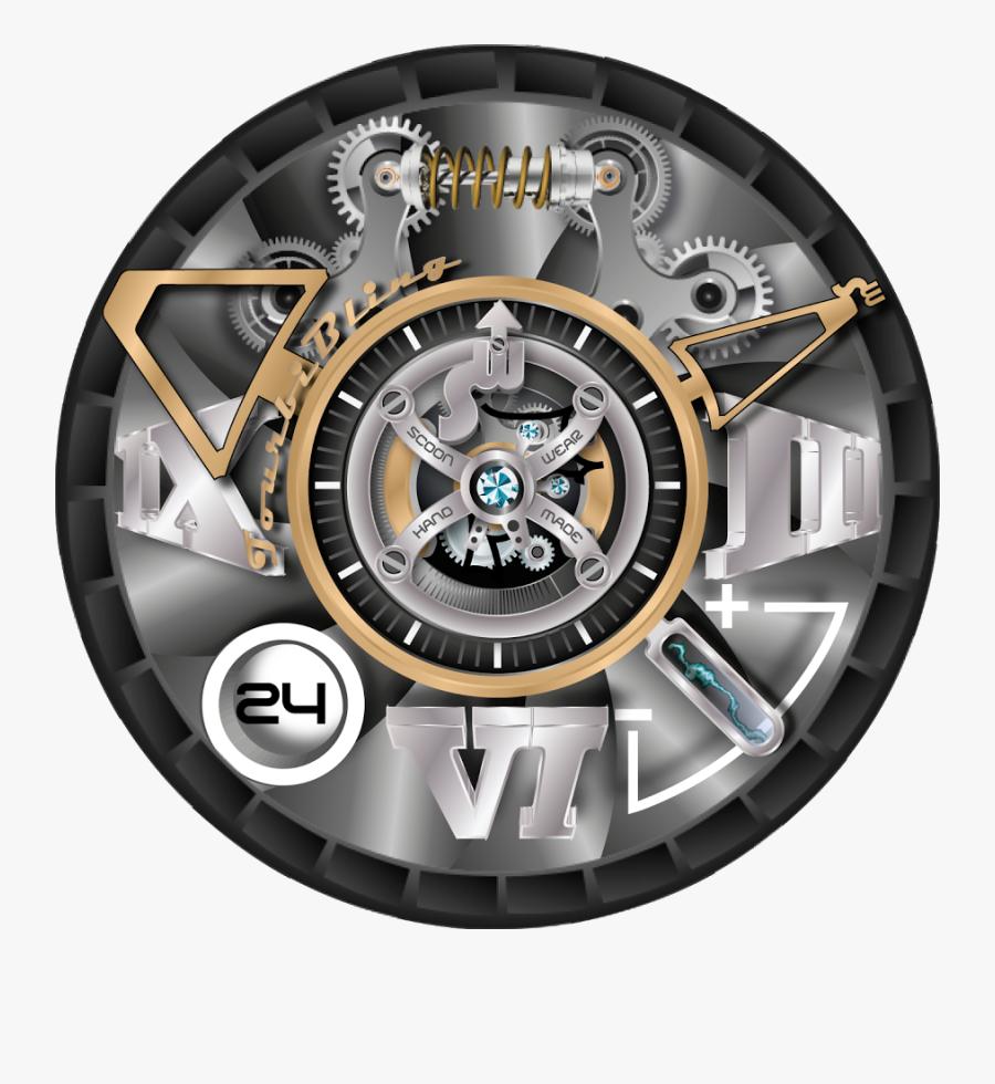 Clip Art Collection Of Free Transparent - Transparent Watch Dials Png, Transparent Clipart