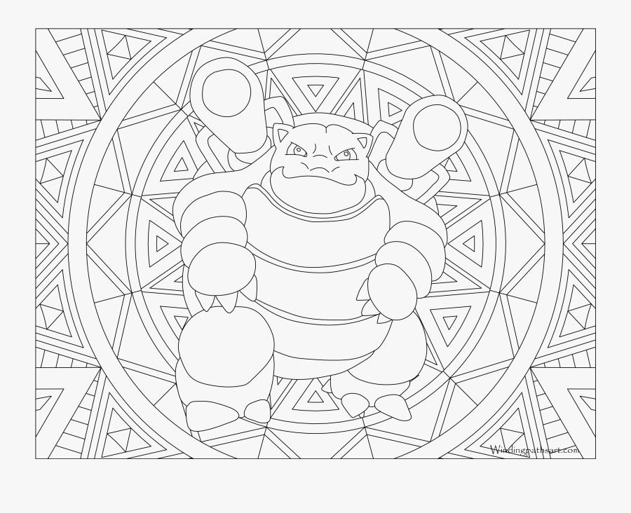 View Larger - Cute Printable Pokemon Coloring Pages, Transparent Clipart