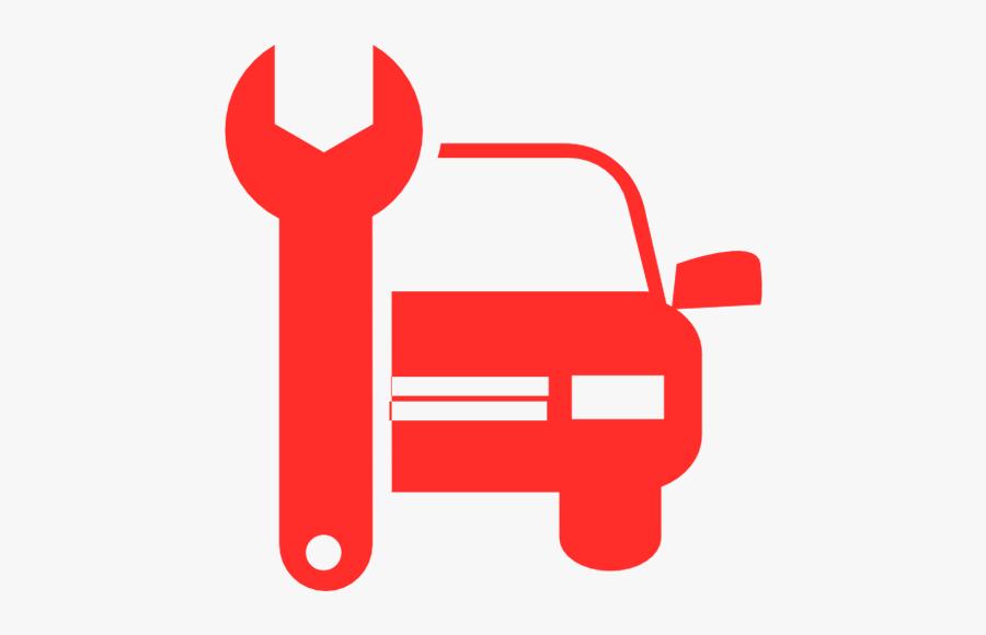 Auto Services - Car Repair Shop Icon, Transparent Clipart