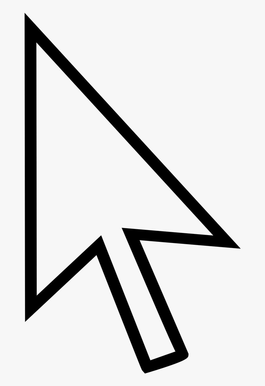 Transparent Windows 10 Cursor, Transparent Clipart
