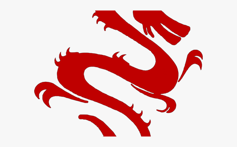 Transparent Blind Clipart - Chinese Dragon Silhouette Cute, Transparent Clipart