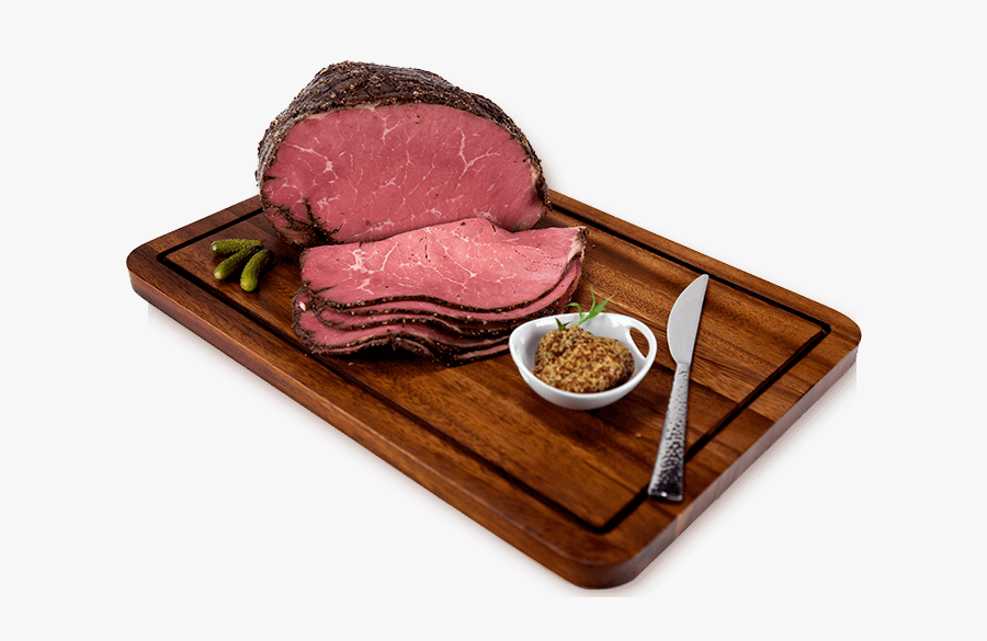 753643 Usdachoice Angus Peppercorn Crusted Beef Pastrami - Pastrami Png, Transparent Clipart