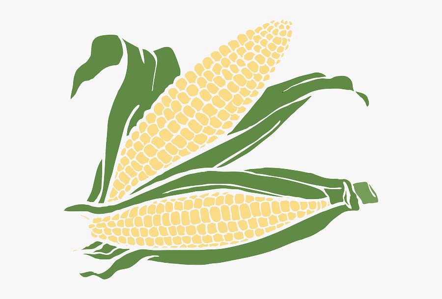 White Corn Clipart, Transparent Clipart