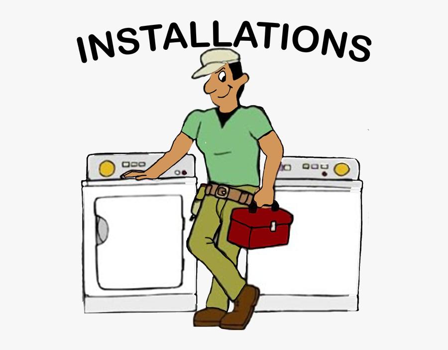 Install-appliances - Appliance Repair, Transparent Clipart