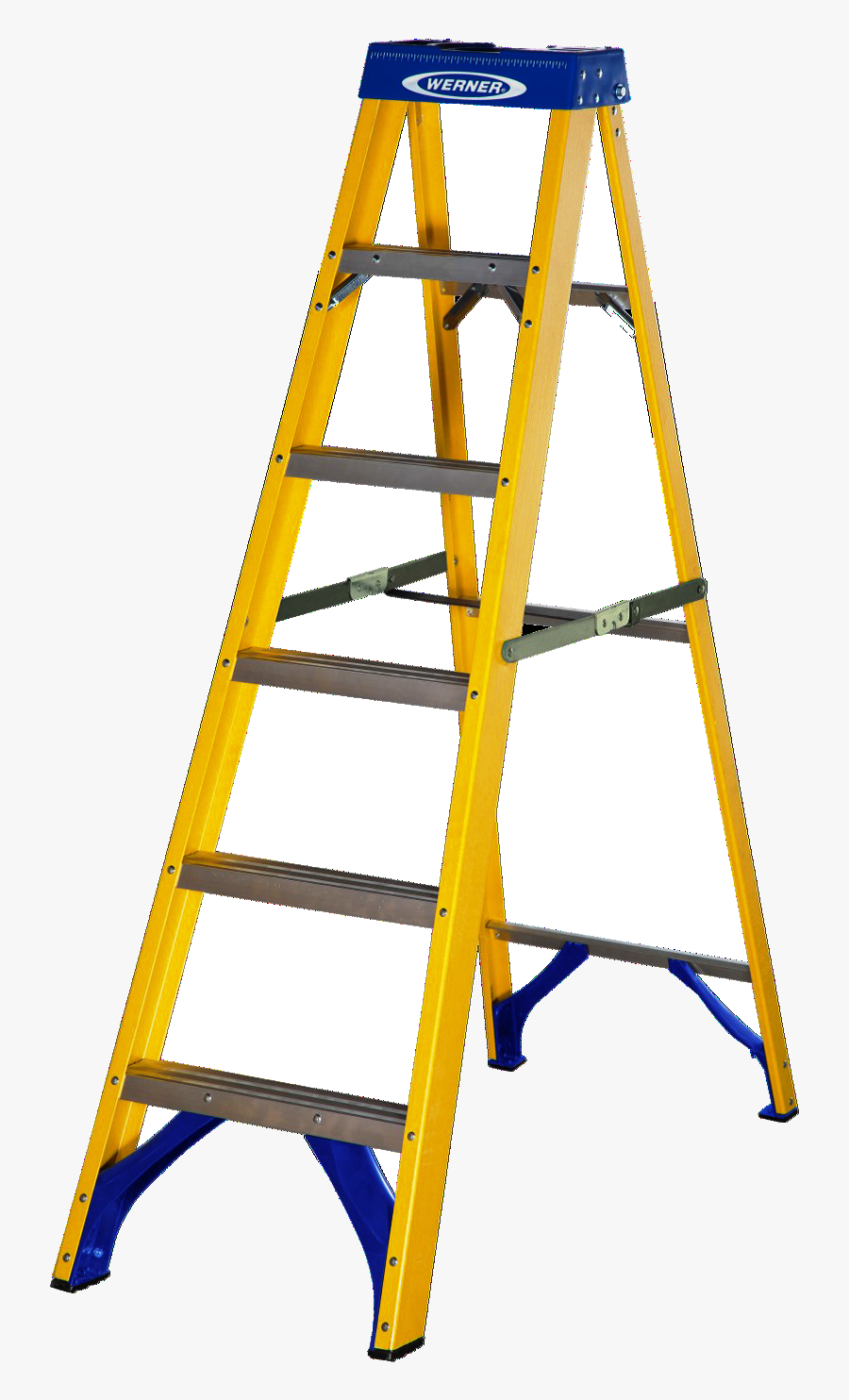 Free Clipart Of A Step Ladder - Werner Step Ladders Ireland, Transparent Clipart