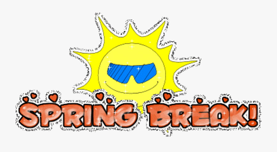 Free Spring Break Clipart - Animated Spring Break Clip Art, Transparent Clipart