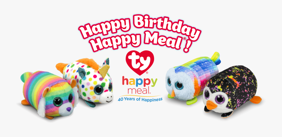 Transparent Happy Meal Png - 40 Years Of Happy Meals Toys, Transparent Clipart
