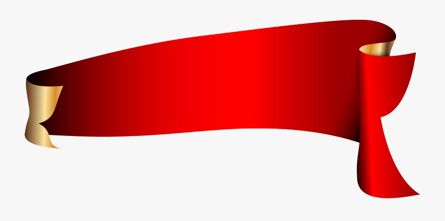 Red Ribbon Red Ribbon - Vectors Ribbon Png Hd, Transparent Clipart