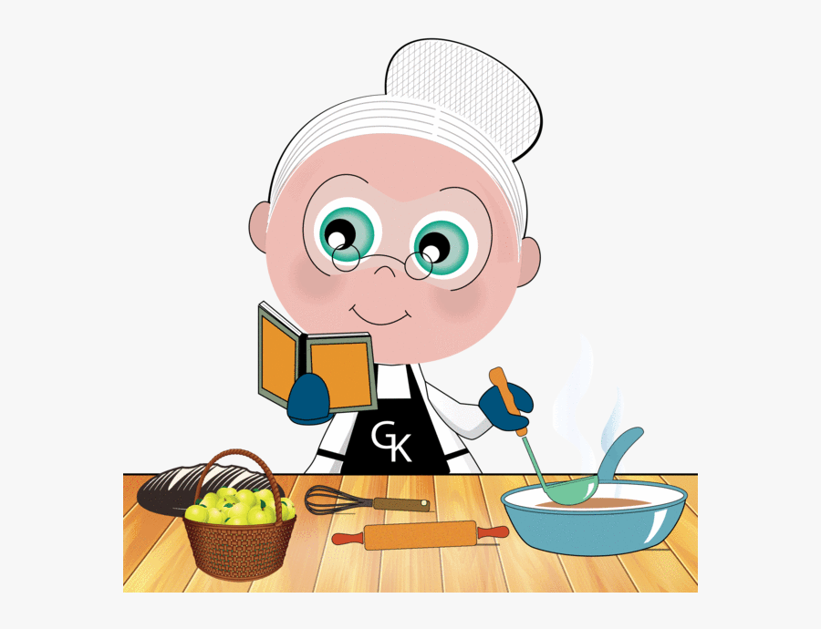 Grandmother Cooking Clipart Cartoon Image Of A Grandmother Cooking Free Transparent Clipart Clipartkey