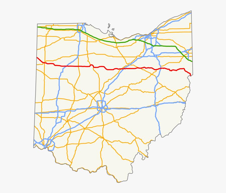Transparent Ohio State Flag Png - Ohio Regions, Transparent Clipart