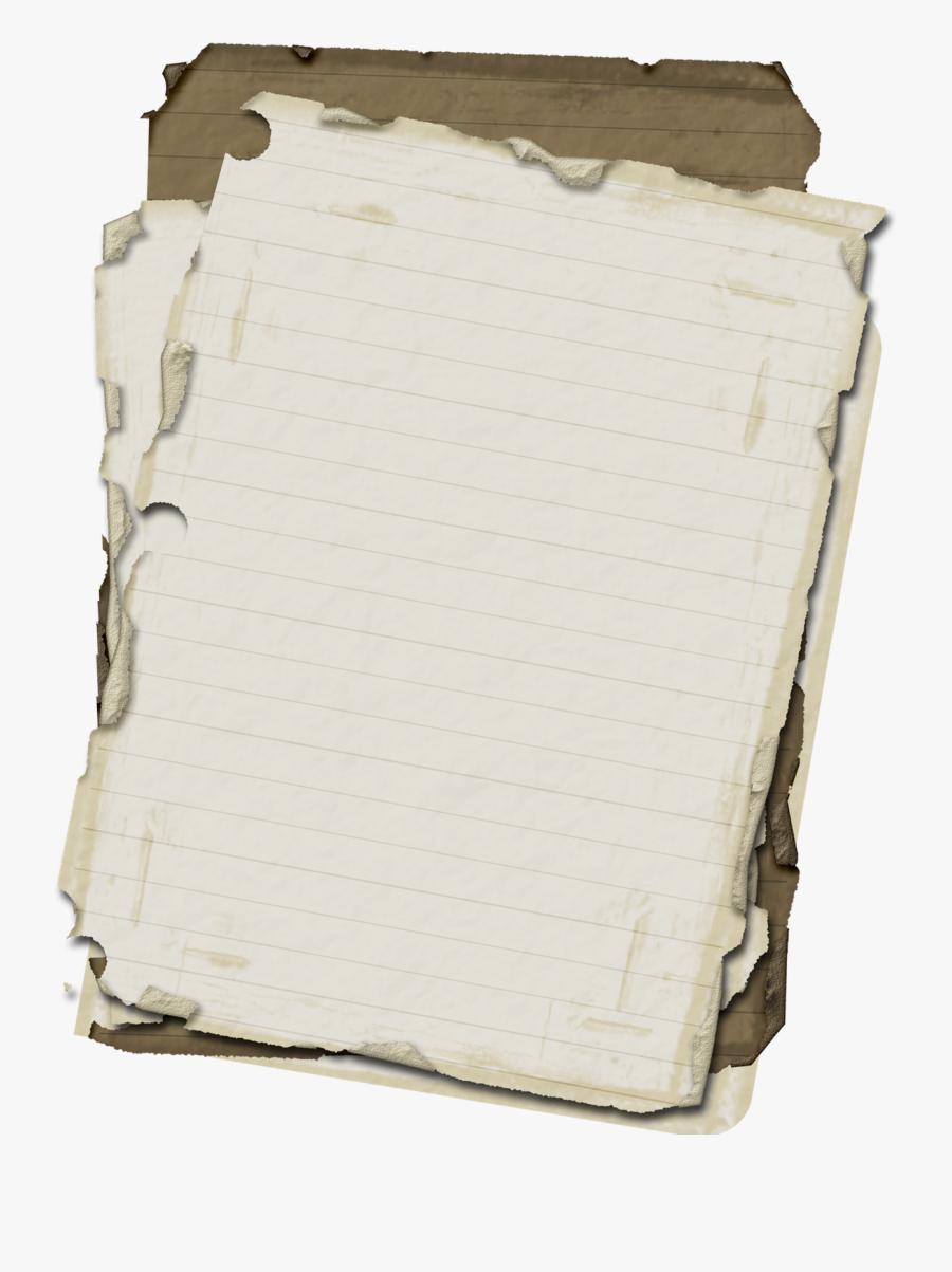 Old Paper, Scrap Png - Scrap Of Paper Png, Transparent Clipart