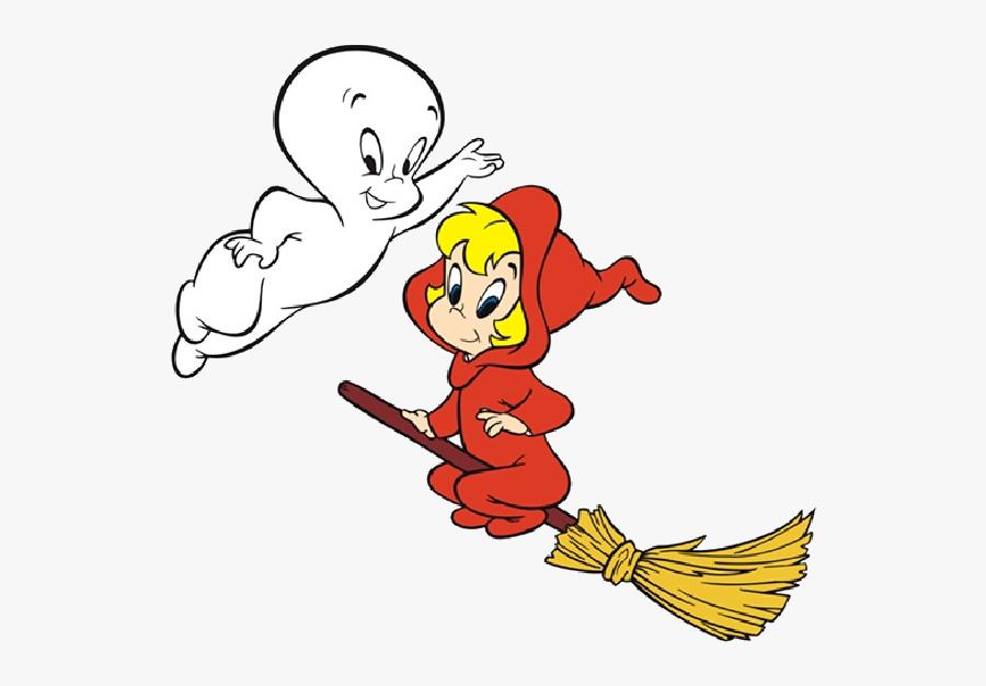 Halloween Cute Ghost Clipart Casper The Friendly Clipart - Casper The Friendly Ghost Animated, Transparent Clipart