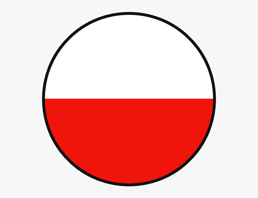 Poland Flag Round Png Clipart , Png Download - Poland Round Flag Png, Transparent Clipart
