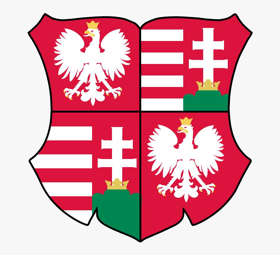 Transparent Polish Eagle Clipart - Herb Polski, Transparent Clipart