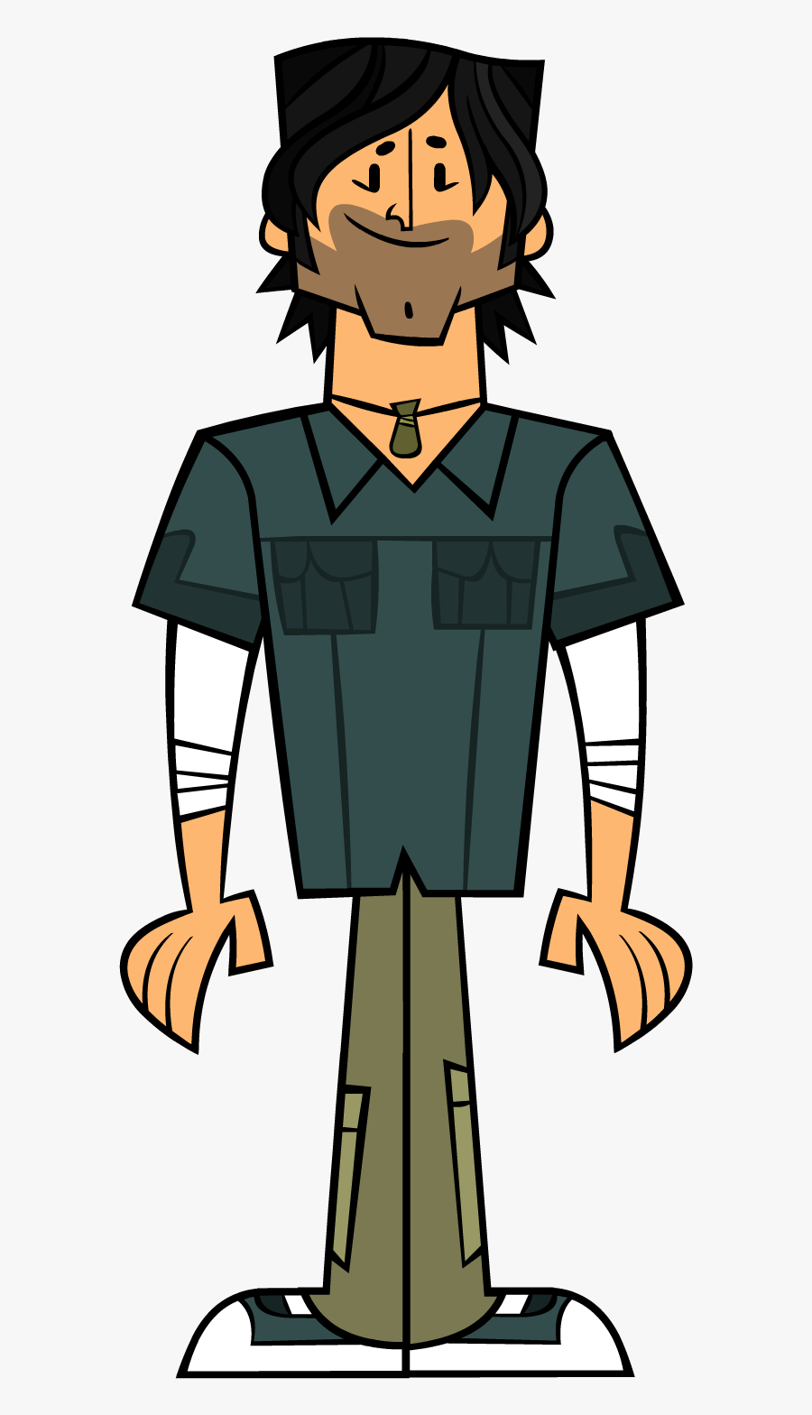 Chris Mcclain Total Drama Clipart , Png Download - Host Of Total Drama Island, Transparent Clipart