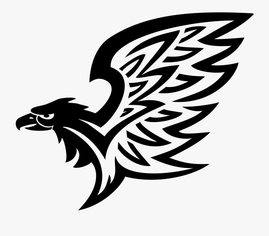 Transparent Face Tattoos Png - Eagle Tribal Tattoo Png, Transparent Clipart