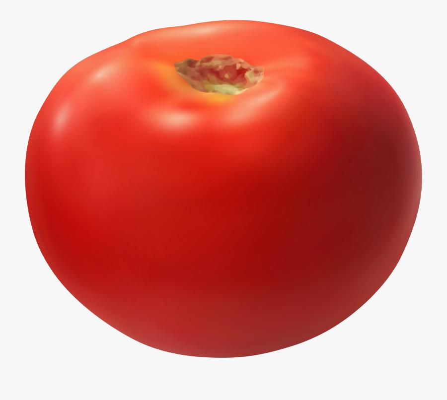 Transparent Vegetable Basket Clipart - Plum Tomato, Transparent Clipart