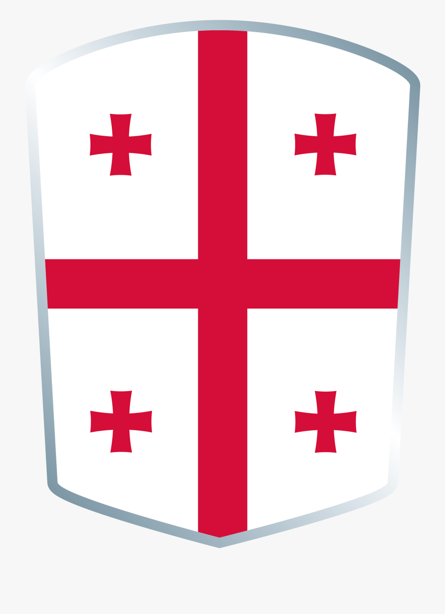 United Nations Flag Clipart Rugby World Cup - Georgia Rugby World Cup Flag, Transparent Clipart