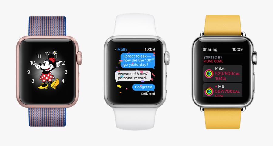 Your Super Slow Apple - Glances Apple Watch Series 3, Transparent Clipart