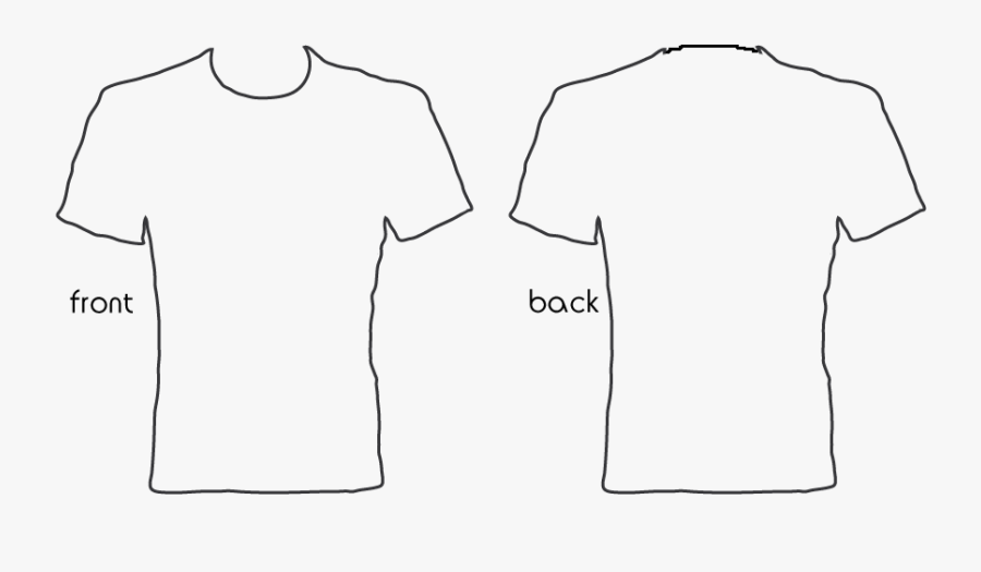 Transparent Collared Shirt Clipart - T Shirt Design Template Transparent, Transparent Clipart