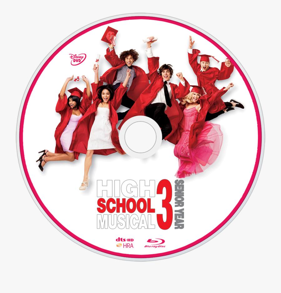 High School Musical 3 Disc, Transparent Clipart