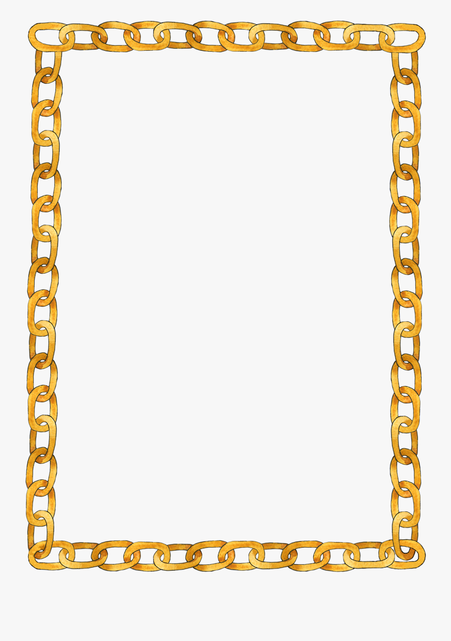Chain Frame - Chain Frame Png, Transparent Clipart