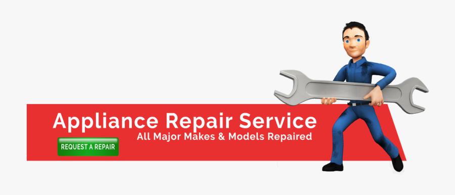 Appliance Repair Service Logos, Transparent Clipart