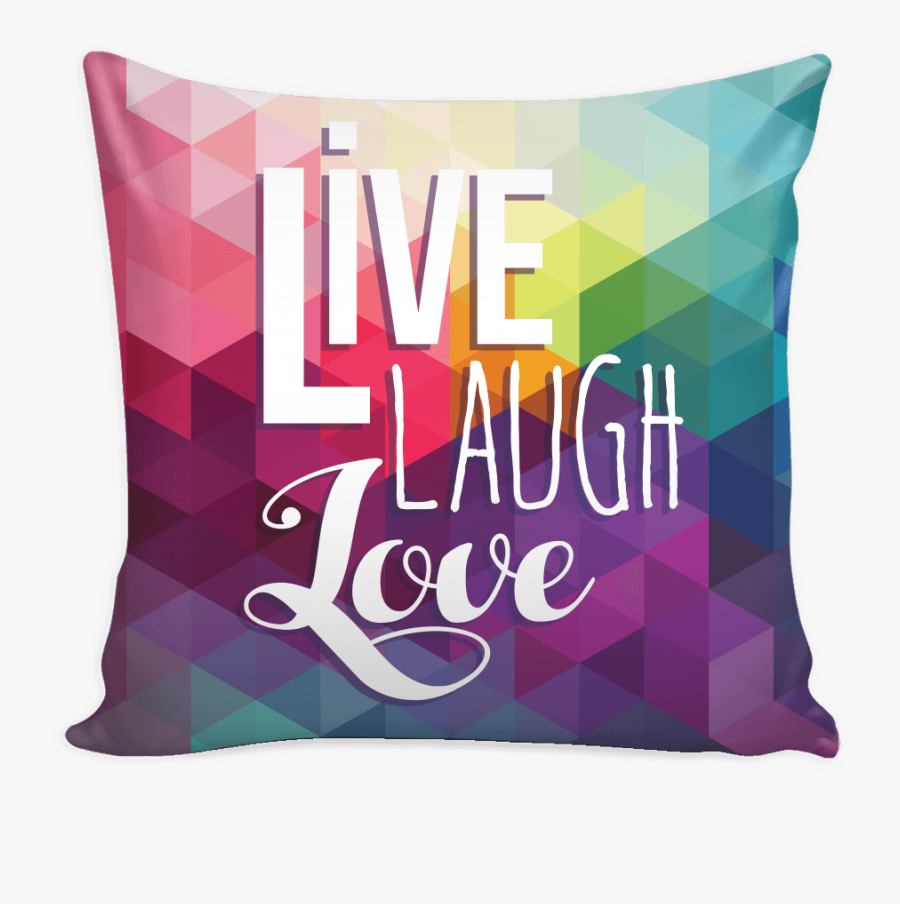 Clip Black And White Library Live Laugh Love Diamond - Live Laugh Love Colourful, Transparent Clipart