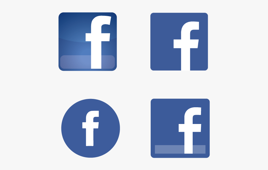 Facebook Png Icons Free Download Transparent Background Logo Facebook Vector Free Transparent Clipart Clipartkey