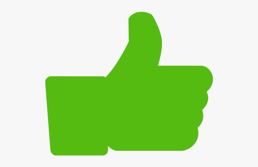 Thumbs Up Clip Art Green - Thumbs Up Transparent Green, Transparent Clipart