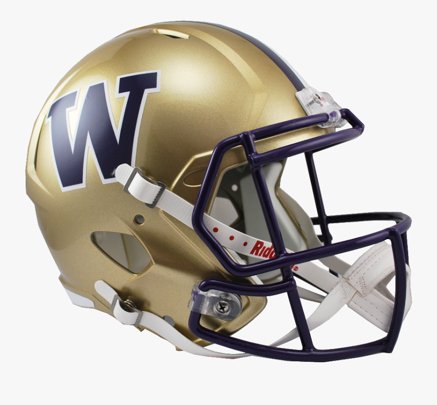 Download Full Size Image - University Of Washington Football Helmet, Transparent Clipart