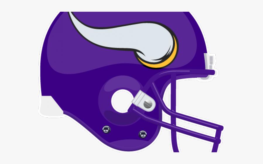 Transparent Vikings Clipart - Draw A Vikings Football Helmet, Transparent Clipart