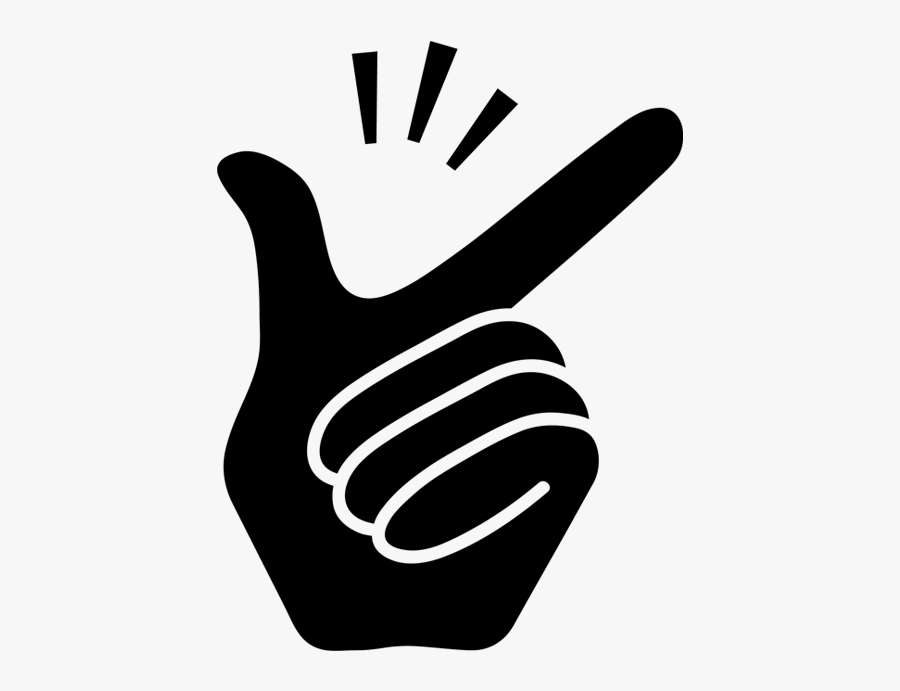 Finger Clipart Snap - Finger Snap Icon Png , Free ...