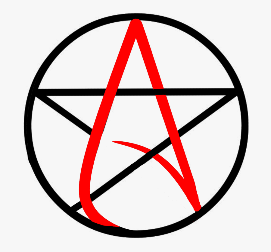 Pentagram Pentacle Drawing Wicca Magic - Chilling Adventures Of Sabrina Symbol, Transparent Clipart
