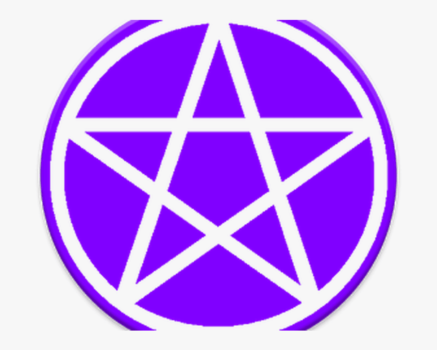 Pentagram Pentacle Wicca Witchcraft Magic - Wicca Pagan, Transparent Clipart