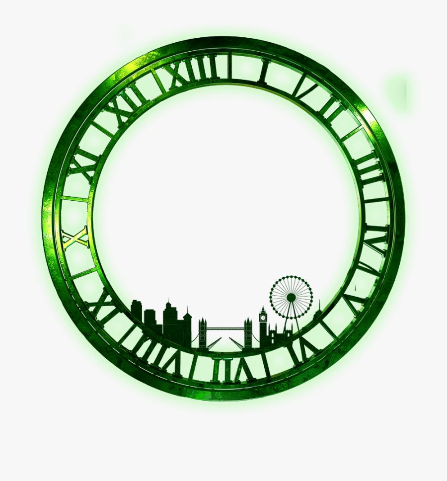 Clock - Wicked The Musical Clock, Transparent Clipart