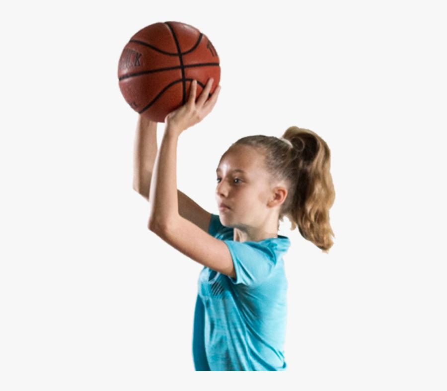 Player,ball Game,team Sport,throwing A Ball,basketball - Play Basketball Png, Transparent Clipart