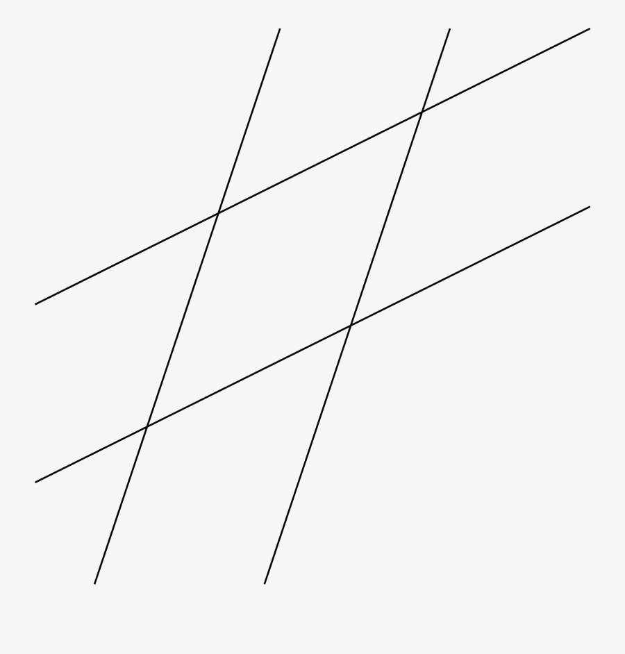 Transparent Parallel Lines Png - Line Art, Transparent Clipart