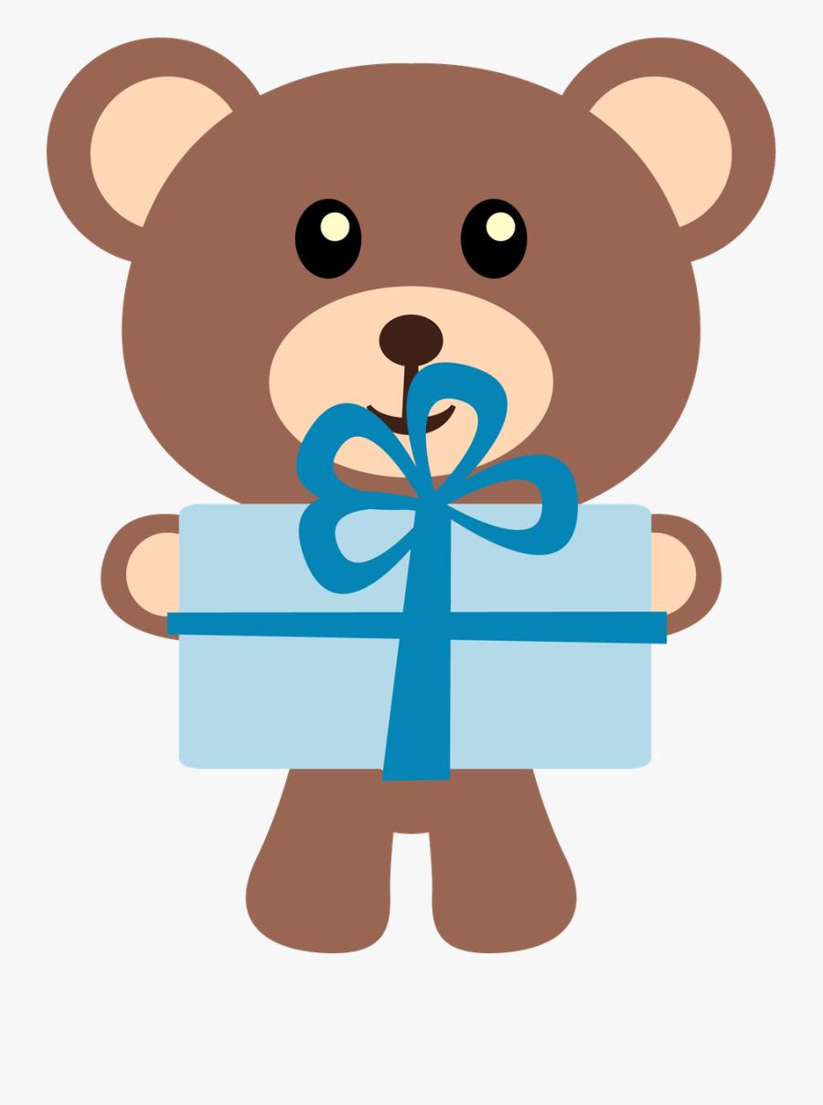 Ursinhos E Ursinhas - Teddy Bear Clip Art Birthday, Transparent Clipart