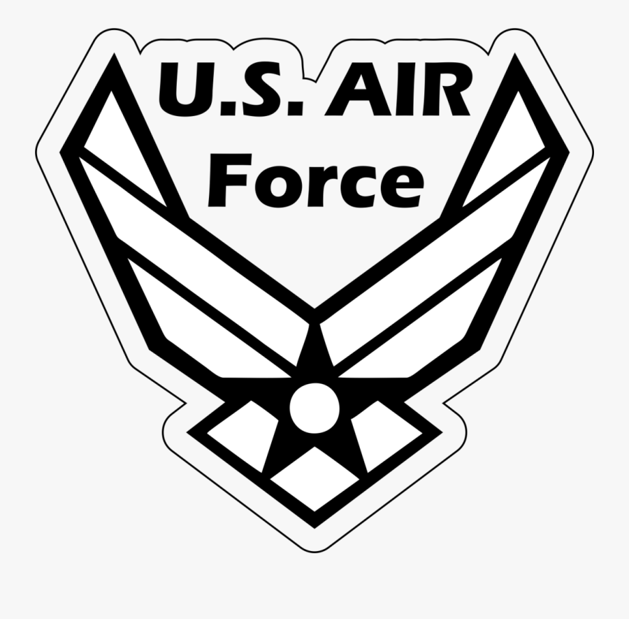 Transparent Usaf Logo Png - Air Force Symbol Svg, Transparent Clipart