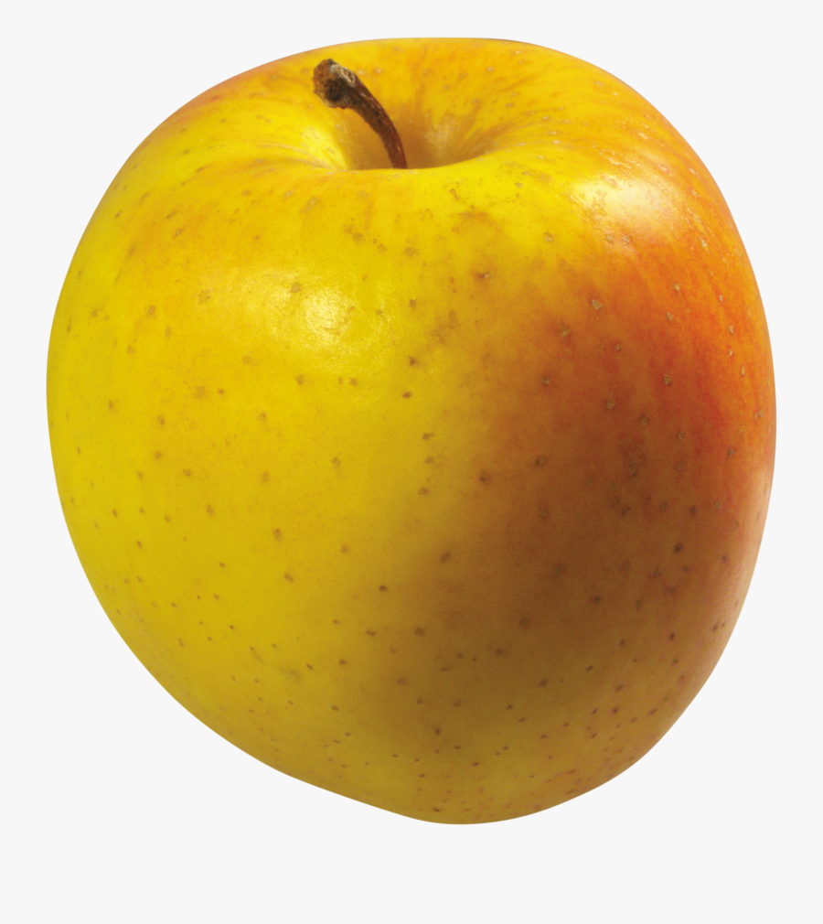 Yellow Apple Png, Transparent Clipart