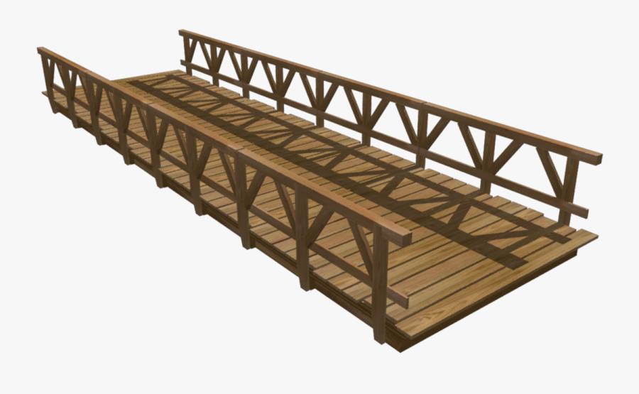 Transparent Zero Turn Mower Clipart - Wooden Bridge Png, Transparent Clipart