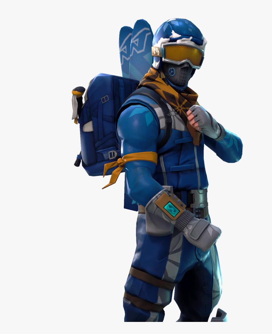 Fortnite Battle Royale Character - Alpine Ace Fortnite Skin Png, Transparent Clipart